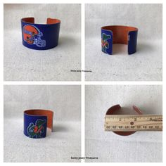 A personal favorite from my Etsy shop https://www.etsy.com/listing/498921434/team-sport-spirit-cuff-mixed-media-metal