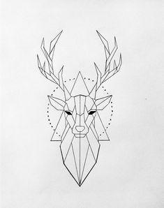 Tattoo Sketches 657877458054658352 - Drawings Drawings – Drawings drawings – Source by Tattoo Sketches, Tattoo Drawings, Drawing Sketches, Drawing Ideas, Doodle Art, Geometric Drawing, Geometric Deer, Geometric Designs, Geometric Tattoos