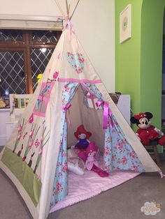 Cheap teepee that looks really expensive. Great Christmas present . Perfect for…