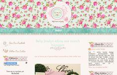 Edria Lovely Design Scrapbook Template | Ipietoon-Cute Blog Design