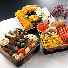 traditional japanese new years food | osechi ryori are traditional japanese new year foods the tradition ...