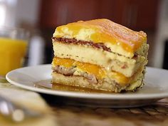 Breakfast Pancake Lasagna : Food Network - FoodNetwork.com  - this is the best of all things breakfast in one bite!