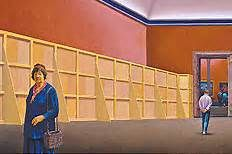 Jeffrey Smart Margaret Olley in the Louvre Museum Australian Painters, Australian Artists, Jeffrey Smart, Norman Lindsay, Smart Art, Urban Landscape, Urban Art, Louvre, Museum