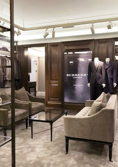 Burberry flagship store, London store design