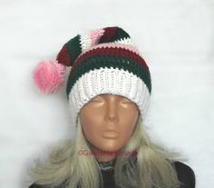 Christmas Baby Elf Hat Baby Stocking Hat by GalinaHandmade on Etsy