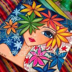 Pointillism, Dotillism, Dot Art, Mandala Art, on a frame. Art Pop, Dot Painting, Fabric Painting, Mandala Art, Madhubani Art, Indian Art Paintings, Pencil Art Drawings, Whimsical Art, Art Plastique