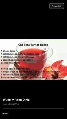 Chá Seca Barriga Dukan