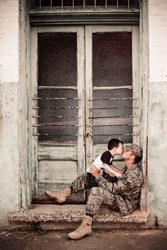 Pre-deployment by Melissa Conn Photography (these are MY guys before my husband's deployment)