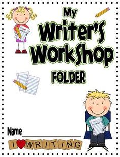 This download contains everything you need to make writer's workshop folders for your class with extras! This file contains:3 folder covers in re...