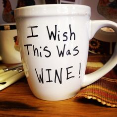 Wino Coffee Cup by WineYesPlease on Etsy