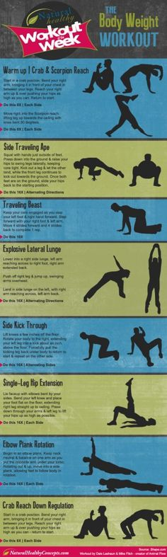 The Animal Flow Workout AKA The Body Weight Workout - Workout Wednesday
