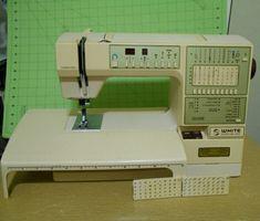 White Euroflair 8910 made by Viking Sewing Machines, Vikings, The Vikings, Treadle Sewing Machines, Viking Warrior