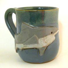MudWorks' shark mug!