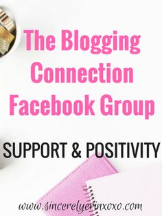 The Blogging Connection Facebook Group