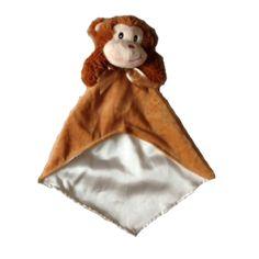 bown monkey security blanket
