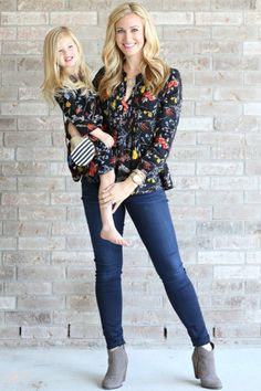 Mini and Me Style Fall Floral + $500 Nordstrom Giveaway