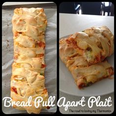 The road to loving my Thermomix: Bread Pull Apart Plait Thermomix Bread, Bellini Recipe, Herb Butter, Butter Cheese, Garlic Butter, Easy Cheese, Savoury Baking, How To Make Pizza, Lunch Box Recipes