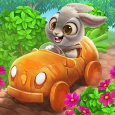 carrot-car on Behance Carrot Cars, Share Pictures, Bambi Disney, Animated Gifs, Sendai, Funny Bunnies, Big Eyes, Game Character, Clipart