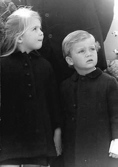 Cristina y su hermano Felipe