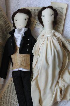 CUSTOM ORDER Ragdoll OOAK Cloth Doll Personalized by TwiiceLoved