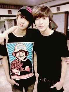 Jinchan ^^Gongchan's shirt is disturbing