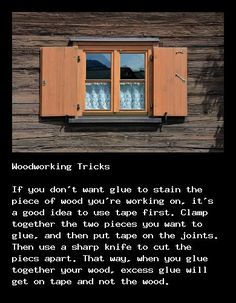 Great woodworking tricks at http://underwoodworking.com