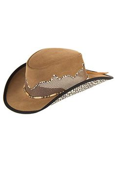 32ec90e4 Overland Sheepskin Co Sierra Suede Breezer Cowboy Hat Review Beige, Cheap  Caps, Western Style