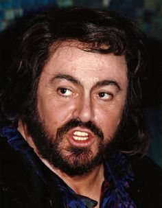 The 5th anniversary of Luciano Pavarotti's death (12 October 1935, Modena - 6 September 2007, Modena, Italy) - Rostro / Face / Portrait - Celebrity