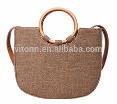 efc4752c6d72 Wholesale Bamboo Jute Bag Ladies Bags Handbag,Environmental Jute Basket  Women Bag Handbag - Buy