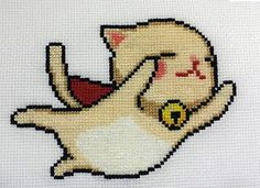 Super Kitty to the Rescue! - NEEDLEWORK by chinastarr @ craftster.org.  Adorable pattern