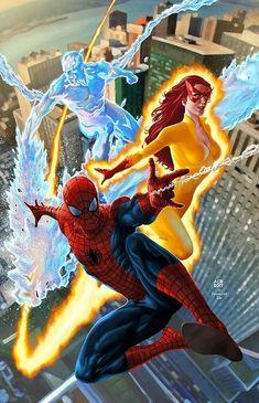Spider-Man with X-men