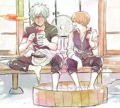 Gintoki and Sougo