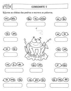 Atividades+Juntando+Sílabas+Alfabetização