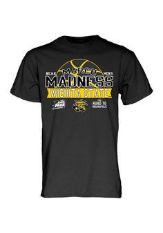 Wichita State March Madness 2015 Short Sleeve Tee http://www.rallyhouse.com/shop/wichita-state-shockers-mens-short-sleeve-tshirt-black-570770?utm_source=pinterest&utm_medium=social&utm_campaign=Pinterest-WSUShockers $19.99