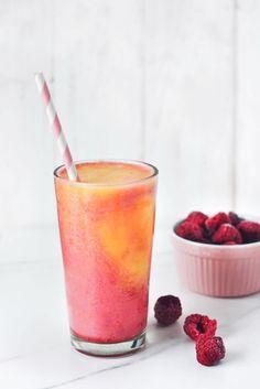 Peach Melba Sunrise Smoothie