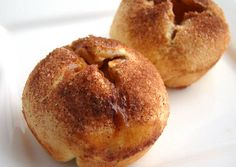 Muffin with apple filling Hungarian Recipes, Hungarian Food, Apple Filling, Sweet Bread, Bagel, Cake Recipes, Food And Drink, Cooking Recipes, Sweets