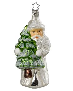 """Inge Glas """"kindhearted Nikolaus"""" Glass Ornament - Made in Germany (#220) #GlassOrnaments"""