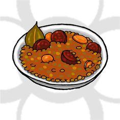 lentejas con chorizo [ES] #lentejas con #chorizo [EN] #lentils with chorizo.