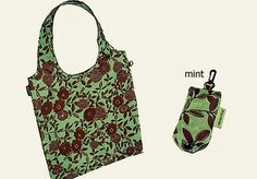 reusable bag with keyring attachment