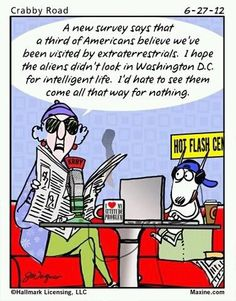 Maxine gets it right on intelligence