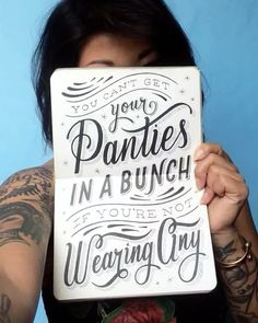 """3,782 Likes, 56 Comments - Lauren Hom (@homsweethom) on Instagram: """"Life lesson number two from Grandma Hom: """"You can't get your panties in a bunch if you're not…"""""""