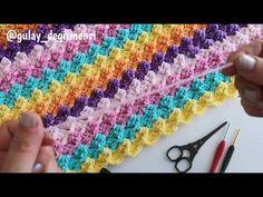 Su Taşı Battaniye Modeli / 3 D Crochet Blanket - YouTube Baby Blanket Crochet, Friendship Bracelets, Youtube, Youtubers, Youtube Movies, Friend Bracelets
