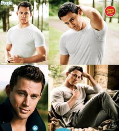 Channing. I just wanna take a moment to thank God for taking extra special time on the chiseled features. We are ALL so great full for the time you took with him so we have something utterly gorgeous to look at. Amen!