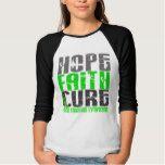 Non-Hodgkin's Lymphoma HOPE FAITH CURE 1 Tee Shirt