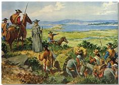The Quest - Portola expedition - Ortega was part of the expedition he later built the the Presidio in SB 1782