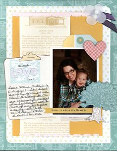 Home is where the heart is ***JAN SFTIO HARMONY KIT*** - Scrapbook.com