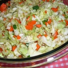 I love this coleslaw, but then again I love Amish food..oh and this is not my photo, when I make again, will take a pic...