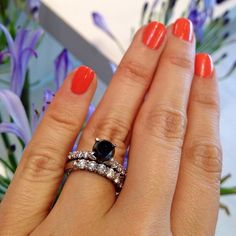 Mr. Big\'s black diamond----he bought her a big one and she gave it ...