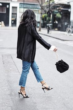 SILK BLACK BLAZER
