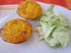 Flan carottes et lardons Cornbread, Muffin, Four, Parmesan, Breakfast, Ethnic Recipes, Gratin, Pepper, Lebanese Recipes